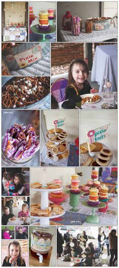Pixie Party Food and Friends Pixie Party, 4 year old girl birthday, party photography, www.urbanutopiaphotography.com