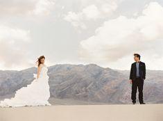 death valley, ca sand dunes wedding