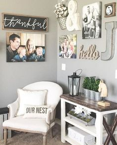 Cozy Farmhouse Living Room Design Ideas You Can Try At Home 39