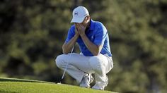 US Masters golf 2016: Jordan Spieth's eye fails him as...: US Masters golf 2016: Jordan Spieth's eye fails… #UsMastersGolf2016 #USMasters