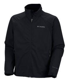 Look at this #zulilyfind! Black Tectonic Omni-Heat Softshell Jacket - Men #zulilyfinds