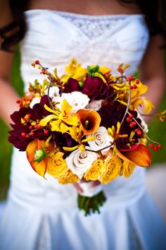 Fall Bouquet by Flora Fetish Fall Bouquets, Fall Wedding Bouquets, Fall Wedding Flowers, Fall Flowers, Floral Bouquets, Bridal Bouquets, Scabiosa Pods, Bride Flowers, Calla Lily