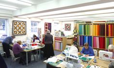 workshops at quiltessential in Derbyshire - Cromford, looks like an ideal holiday destination