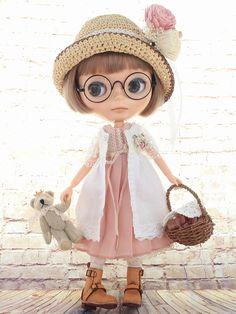 ◆Blythe Outfit◆ブライス♪プリーツワンピコーデ14点set NO54 - ヤフオク!