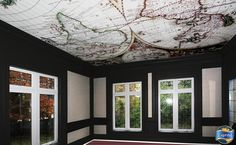 Laqfoil Stretch Ceilings Ltd. Laqfoil Stretch Ceilings is a Canadian based company that. Old World Style, Facebook Photos, Cartography, Wall Prints, Wall Murals, Stretches, Digital Prints, Ceilings, New Homes