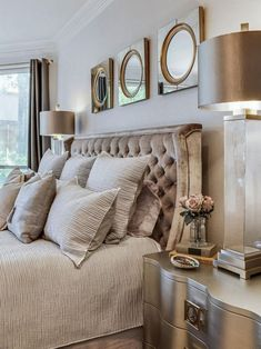 The New Angle On Master Bedroom Furniture Ideas Style Interior Design Just Released 76 Master Bedroom Design, Home Decor Bedroom, Bedroom Furniture, Living Room Decor, Master Bedrooms, Glam Bedroom, Bedroom Suites, Luxurious Bedrooms, Beautiful Bedrooms