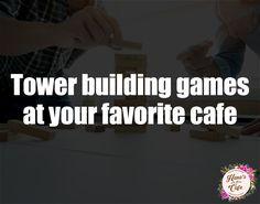 H A P P Y J E N G A with your family and friends at Hana's Cafe |  #jenga #towerbuildinggame #chess #scrabblegame #monopoly #pickyourfavoritegamesathanas #specialtycoffee #firstspecialtycafe  #pampanga #hensonville #restaurantangelescity