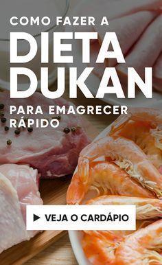 A dieta Dukan é uma dieta dividida em 4 fases e, segundo o seu autor, permite emagrecer cerca de 5 kg já na primeira semana. Na primeira fase, a alimentação é feita apenas com proteínas, e o tempo de duração da dieta depende da quantidade de peso que a pessoa quer emagrecer.