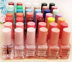 Cheap nail stamping polish, Buy Quality nail polish nail varnish directly from China nail polish patch Suppliers: 	Product Name: Tribal color nail polish color tribal water environmental health 42 color nail polish 6ml	Capacity: 6ml	P
