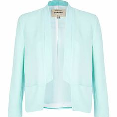 I'm shopping Light green inverted collar blazer in the River Island iPhone app. Winter Jackets Women, Coats For Women, Winter Coat, Fashion Beauty, How To Wear, Green, Fashion Trends, River Island, Outfits