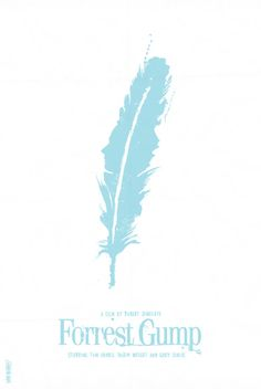 Minimal Movie Poster # 2. (Winston Groom is the man).