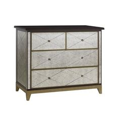 Highland House Furniture: HH20-705-ES - MIRAGE ACCENT CHEST