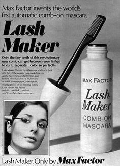 1975 Max Factor LashMaker Mascara