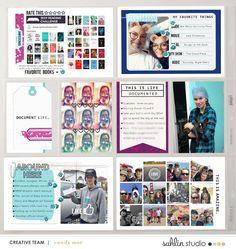 Word Art | February '20 Featured Products | Sahlin Studio | Digital Scrapbooking Designs