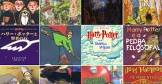 Here's What The First 'Harry Potter' Book Looks Like Around The World Harry Potter Book Covers, First Harry Potter, Harry Potter Wedding, Harry Potter Outfits, Ron Weasley, Ravenclaw, Harry Potter Party Decorations, Harry Potter Painting, Harry Potter Background