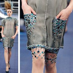 Chanel Couture Tights