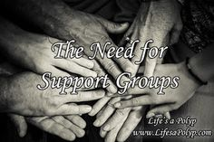 Life's a Polyp: Finding or Establishing Support Groups