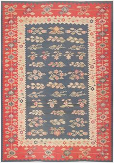 Antique Romanian Bessarabian Kilim 46905 Main Image - By Nazmiyal