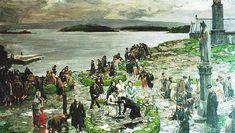 Ježišu môj, milosrdenstvo - modlitba za duše v očistci Irish Painters, City Gallery, Dublin City, Free Admission, Online Collections, Contemporary Art, Portrait, Artist, Painting