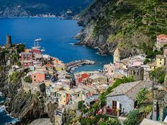 Vernazza walking the cinque terre trails