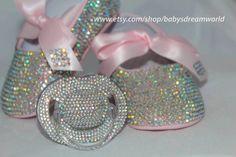 baby christening swarovski package (rainbow)