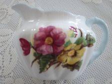 Vintage Porcelana Shelley Begônia Padrão Desnatadeira # 13427 Pratos