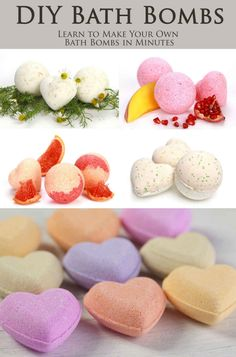 DIY Bath Bombs - Learn How to Make Bath Bombs and Bubble Bombs at Home in Minutes