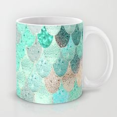 Buy SUMMER MERMAID Mug by Monika Strigel. Worldwide shipping available at Society6.com. Just one of millions of high quality products available.