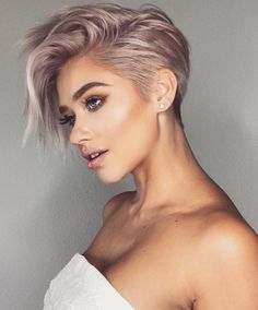 Very Short Haircut for Female, 2019 Short Pixie Haircuts and Hairstyles haircut ideas 10 Trendy Very Short Haircuts for Female, Cool Short Hair Styles 2019 Very Short Haircuts, Short Hairstyles For Women, Cool Hairstyles, Short Female Hairstyles, Short Hair For Women, Short Undercut Hairstyles, Long Pixie Haircuts, Undercut Pixie Haircut, Edgy Short Hair