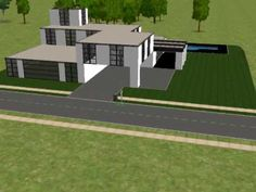the sims 2 building a modern house part 1.avi