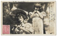 Woman and Little Girl, Mother and Child Antique Real Photo Postcard, vintage French RPPC by maralecollectibles on Etsy Photo Postcards, Mother And Child, Vintage Photographs, French Vintage, Little Girls, Buy And Sell, Woman, Retro, Antiques
