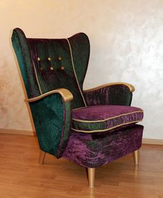 Retro design chair from Sweden  1950'S The King by nataljadesigner, €561.00