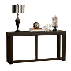Watson Sofa Table This table is so versatile. It can be used as a desk, sofa table, TV stand or a small dining table. Cheap Furniture Online, Furniture Sale, Table Furniture, Selling Furniture, Furniture Logo, Furniture Movers, Kids Furniture, Wood Sofa Table, Sofa Tables