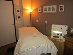 """Colon Hydrotherapy Room I've done colonics since 1989. I am a firm believer in the benefits of cleansing & only colonics or a serious detox can really realease all the excess """"crap"""" out of you  Don't be embarrassed! Be more embarrassed to walk around with it"""