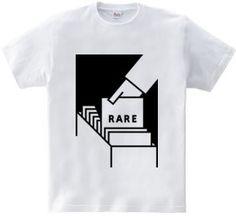 rare : dummy [半袖Tシャツ [5.6oz]] - デザインTシャツマーケット/Hoimi(ホイミ)