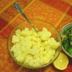 Lemon-Curry Marinated Cauliflower