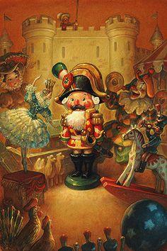 Сказочные Иллюстрации: Scott Gustafson - Щелкунчик