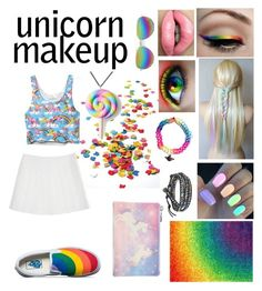 """""""Untitled #931"""" by klarisadevill ❤ liked on Polyvore featuring beauty, Vans, Nexus, Loloi Rugs, AeraVida, Boohoo, Forever 21 and Unicorn Crafts"""