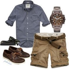 Men's #3 by pchick60 on Polyvore featuring Ray-Ban, Abercrombie & Fitch and American Eagle Outfitters