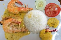 Camarones o langostinos al ajillo Shrimp Recipes, Mexican Food Recipes, Slimming Recipes, Ceviche, Seafood, Food And Drink, Cooking Recipes, Favorite Recipes, Dishes