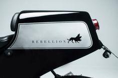 Rebellion Of The Machines: a true Honda CB750 café