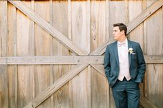 Silver & Lace vintage barn wedding.  photo by The Tarnos, Handsome Groom.  Bouts by Holly Viles Design.