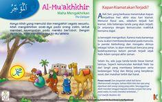 Kisah Asma'ul Husna Al-Mu'akhkhir