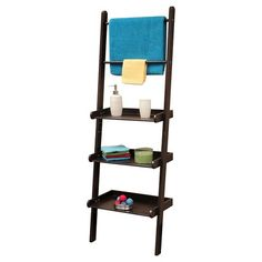RiverRidge® Ladder Shelf - Espresso