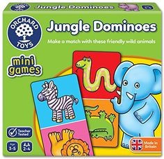 From 4.04 Orchard Toys Jungle Dominoes Stocking Filler