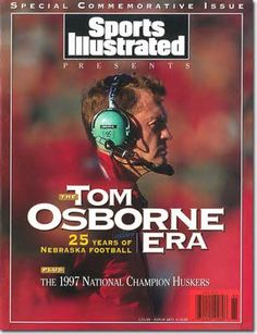 Tom Osborne, S.I. cover.