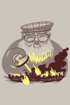 George Martin, the World Burner.