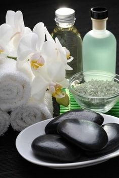 give your self a deep spa treatment at home every two weeks or weekly. scrub relaxing bath masks diffusing calming candles