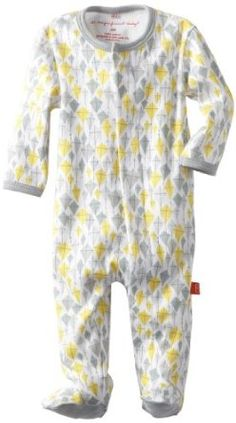 Amazon.com: Magnificent Baby Unisex Newborn Footie, Kites, 9 Months: Clothing