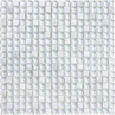 Bliss Glass And Slate - Norwegian Ice  - Best Price Tile